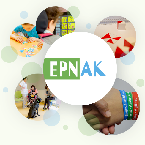 Les professionnels et les usagers de l'EPNAK vous souhaitent une bonne année !