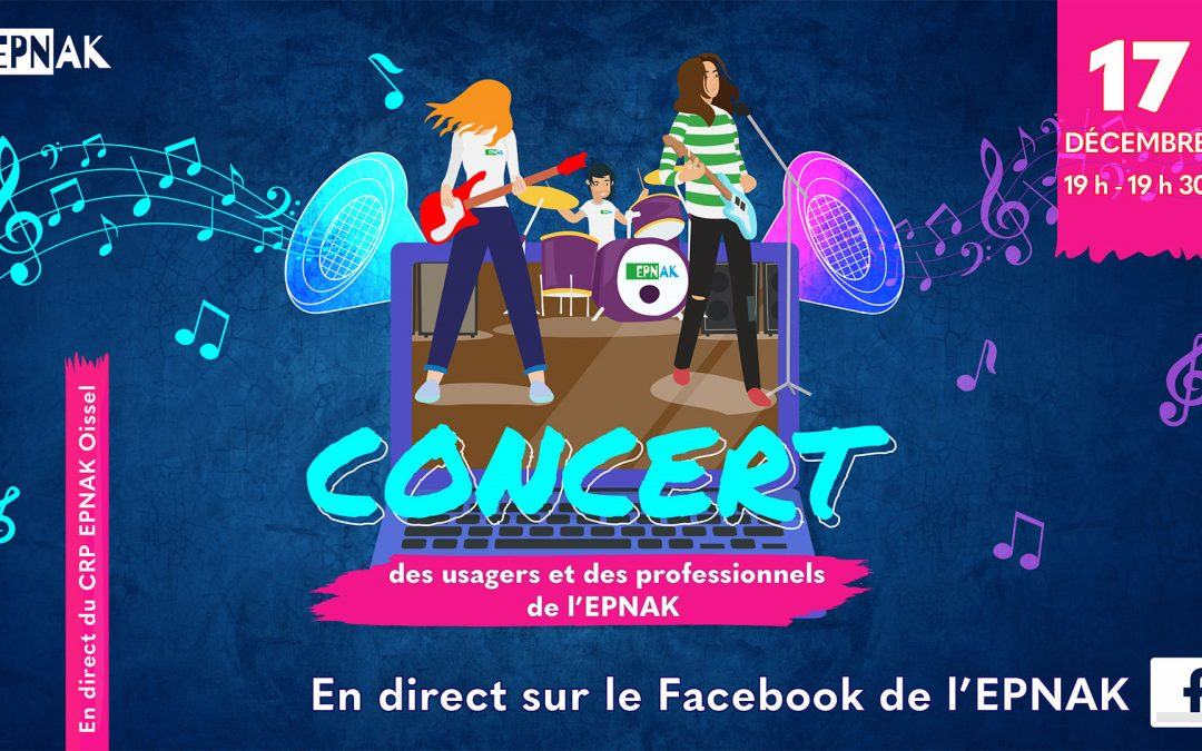 Concert Live sur Facebook en direct du CRP d'Oissel !
