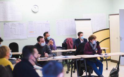 Dernière visite dans le Sud-Ouest pour notre Directeur Général, à l'ESRP de Limoges.
