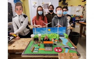 Les jeunes de l'IME Auxerre apprennent les circuits électriques