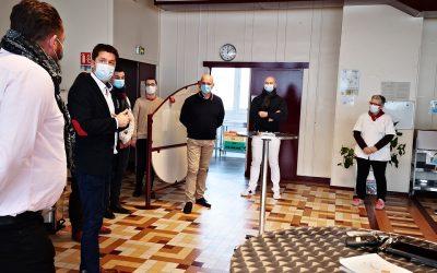 L'ESRP de Muret reçoit la visite d'Emmanuel Ronot.