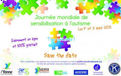 INVITATION : Journée mondiale de sensibilisation à l'autisme