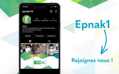 L'EPNAK a désormais son compte sur Instagram