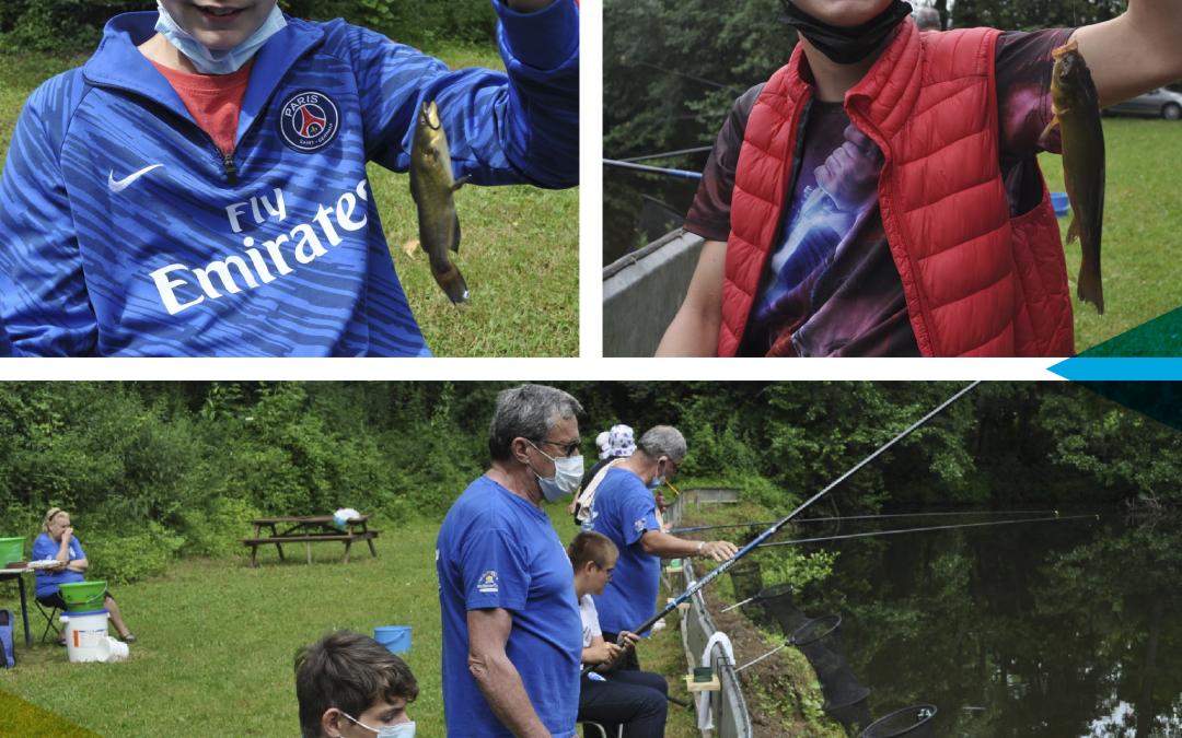 Atelier pêche pour les jeunes de l'IME EPNAK Auxerre