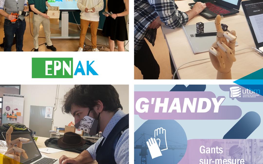 Le projet G'HANDY pour concevoir des gants adaptés