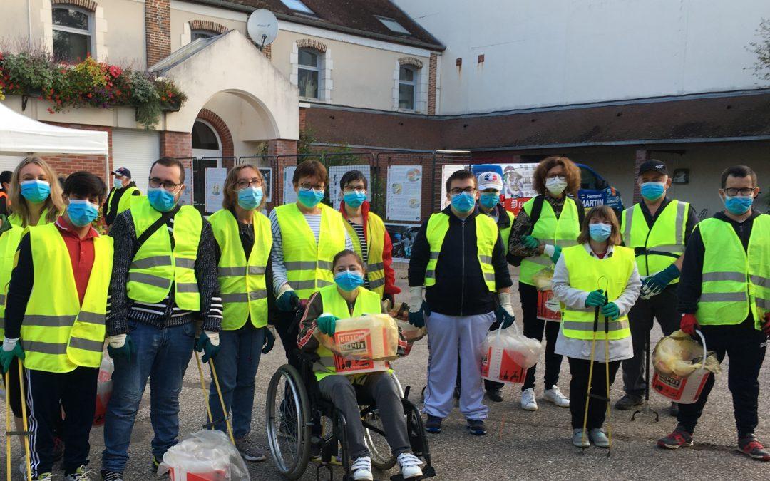 World Clean Up Day : le SAJ EPNAK en première ligne dans l'Yonne !