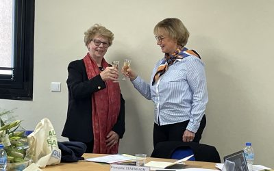 Conseil d'administration : merci Madame la Présidente Aline Ferrand-Ricquer !