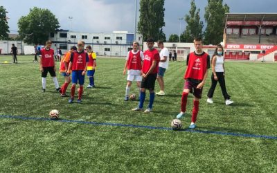 Les jeunes de l'IME Auxerre découvre le Stade de Dijon !